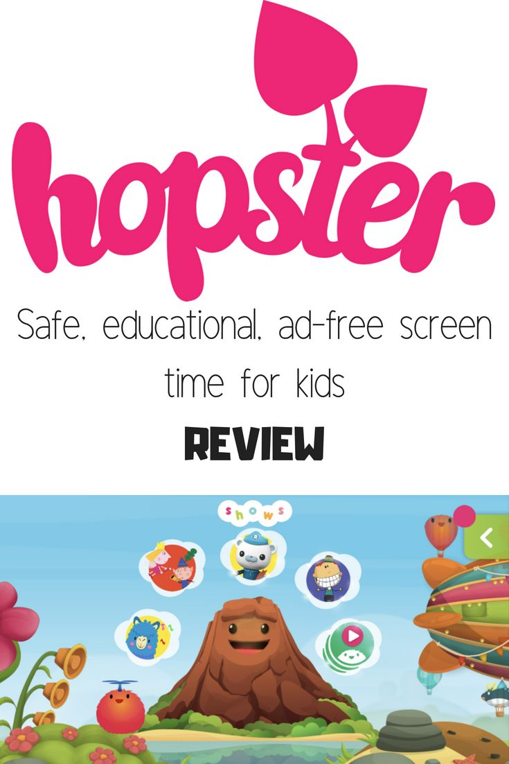 Review Hopster Children's TV and Game App Screen time