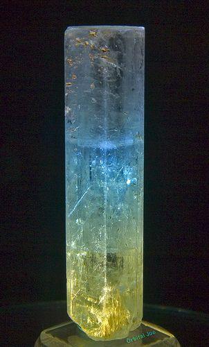 Aquamarine crystal, Pakistan
