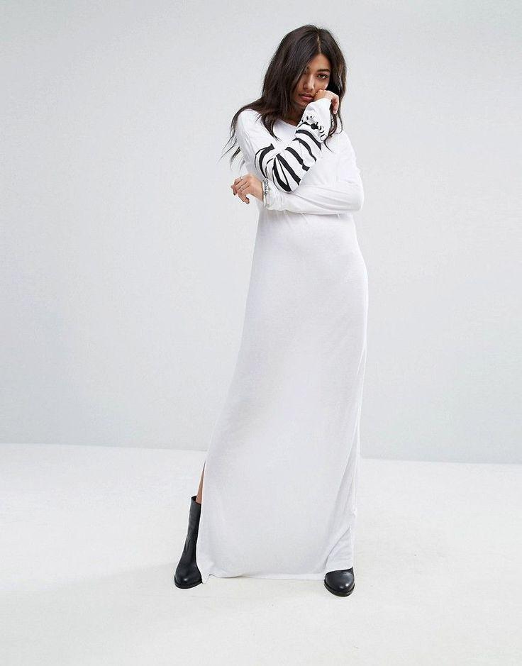 Vestido blanco letra