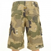 Jay Z Spotted Wearing G Star Raw Halo Rovic Art Loose Shorts Camo
