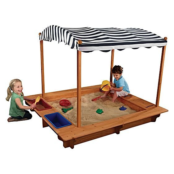 KidKraft Outdoor Sandbox and Canopy