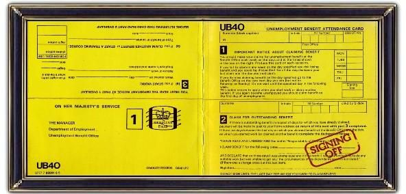 ♫ UB40 - Signing Off (1980) is actually derived from the form for ...