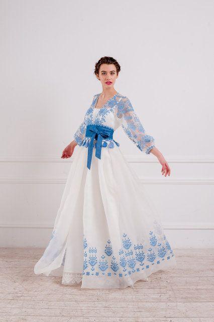 Ексклюзивна дизайнерська сукня , фото 4