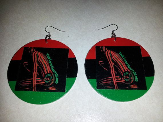 The Low End Theory (A Tribe Called Quest) Earrings