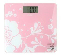 Designer Print Electronic Highly Accurate Weight Scale - Pink