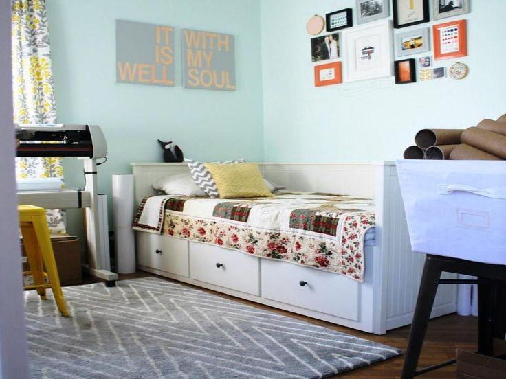 Ikea Shelves Hemnes Daybed In A Boys Bedroom: Hemnes Daybed Kids Room - Sök På Google