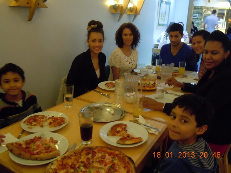 Family get together at Ginos Waterford