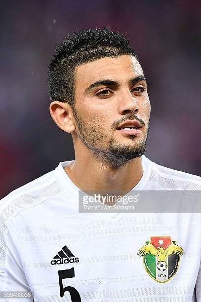 Mohannad Al Souliman of Jordan looks on during the 44th Kings Cup Final match between Jordan and Thailand at Rajamangala Stadium on June 5 2016 in...