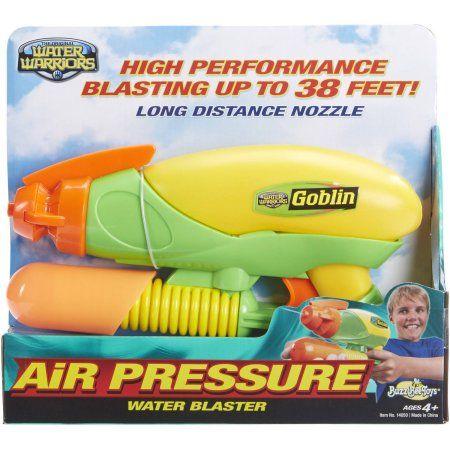 Buzz Bee Toys Water Warriors Goblin Water Blaster, Multicolor