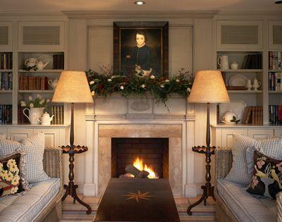 Interior Designers Bradley Thiergartner Bedford Hills Portfolio  ....I adore the lamps!