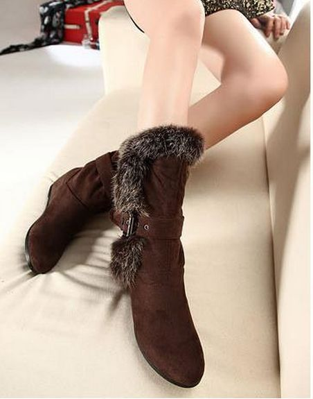 2a7fa6d09976f Autumn Spring Winter Casual Flat Boot Flat Boots from fashionmia.com
