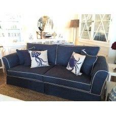 Newport Sofa 3 Seater Ocean