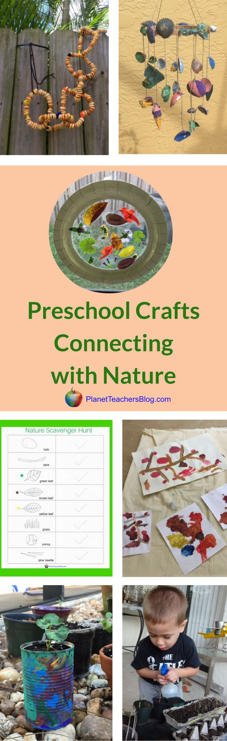 These 7 nature inspired crafts and activities are ones that we've come back to again and again. These crafts are great for toddlers and preschoolers. Exposing early learners to nature helps them practice observation (an important life skill) and notice the changes that take place outside.