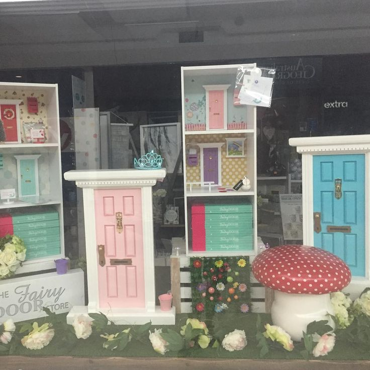 Nextra News Agency at Garden City do a wonderful display of The Fairy Door Store products. <3