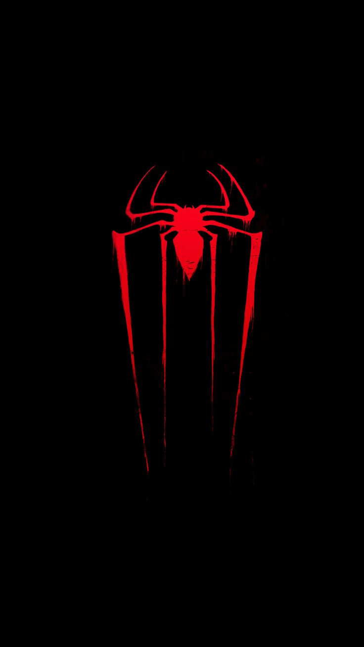 Wallpaper iphone black red - Spiderman Iphone6s Wallpaper