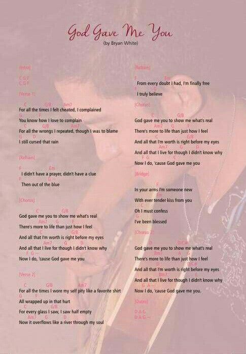 Our theme song lyrics written as part of the invitation and was played during our first dance as couple