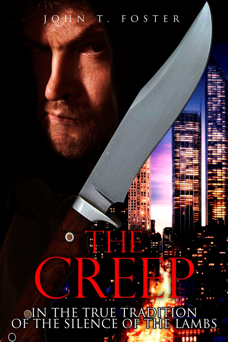 The Creep - knife with NEW YORK SKYLINE, ready to strike at any time
