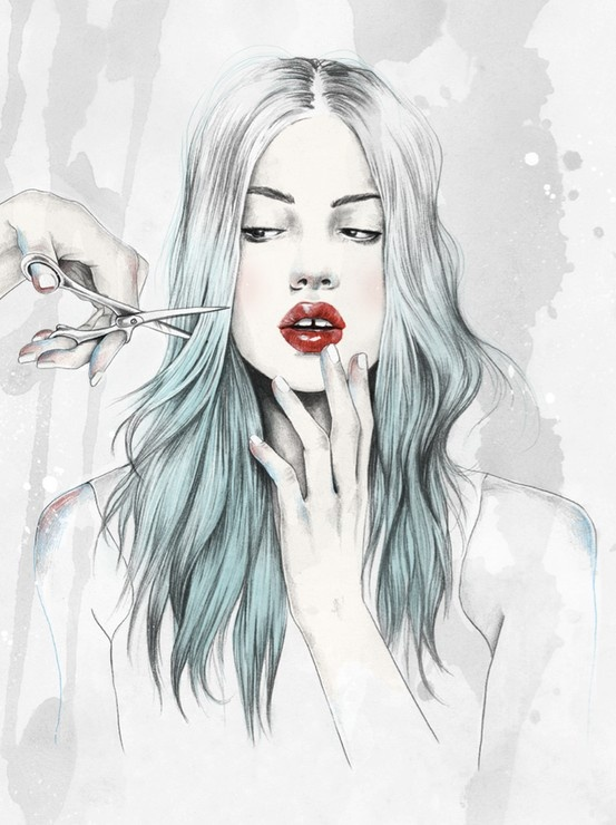Esra Roise illustration for NYLON magazine