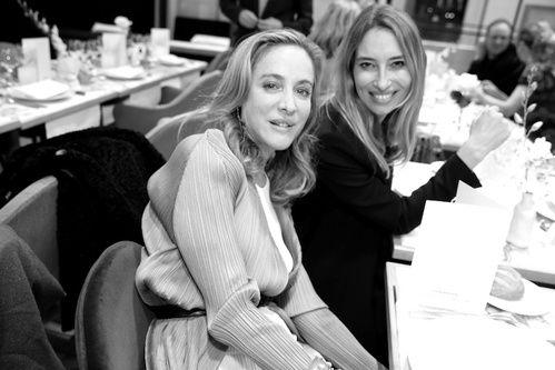 With Aurelie Bidermann who creates so beautiful jewelry