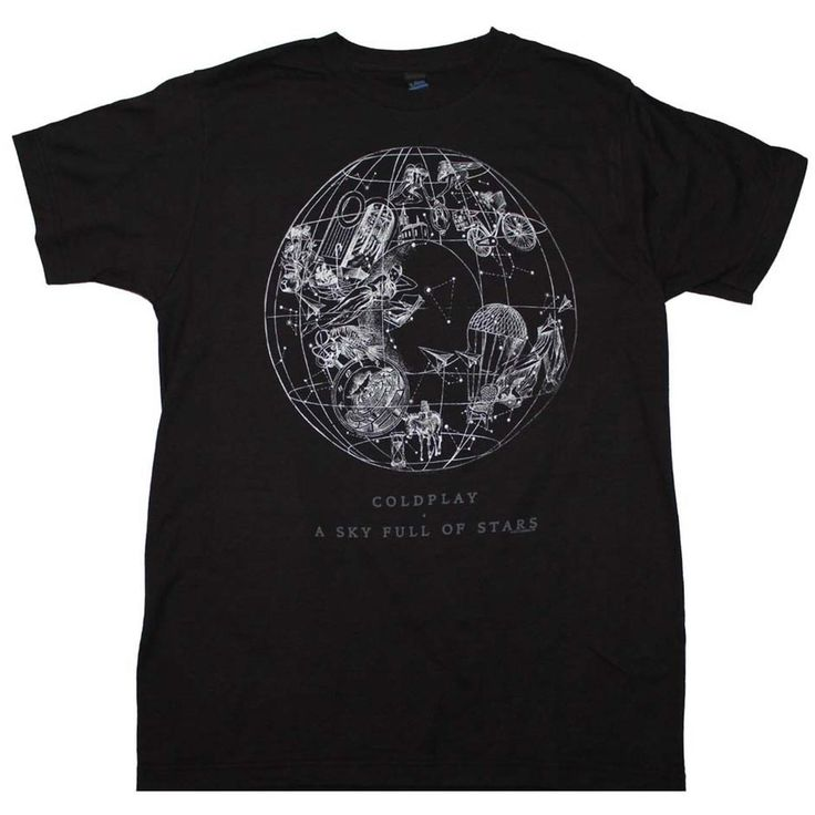 Coldplay T Shirt | Coldplay Sky Full of Stars T-Shirt