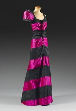 Schiaparelli, can you believe that these creations are well over a half century old?: Elsa Schiaparelli, Evening Dresses, 1930S, Fashion Design, Evening Gowns, Shock Pink, 1930 S, Fashion Trends, Stunning Dresses