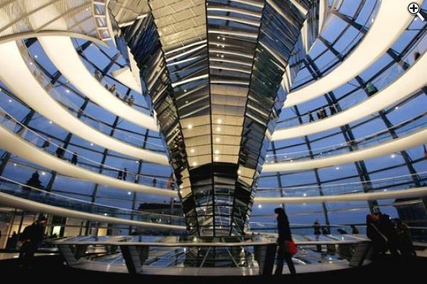 Die Reichstagskuppel - Norman Foster