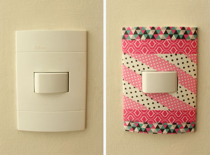 15 ideas geniales para decorar tus interruptores | Diy - Decora Ilumina