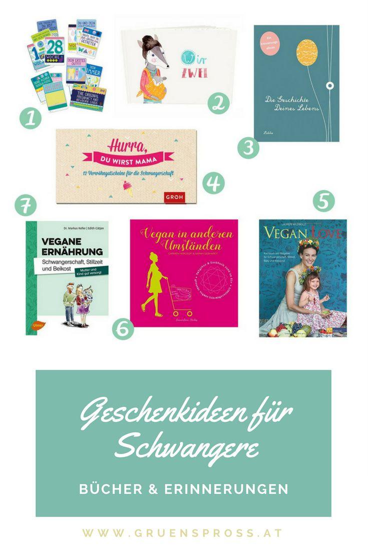 Geschenkideen für werdende Mamas  / Schwangere - Bücher und Erinnerungen #veganeschwangerschaft #schwangerschaft #geschenkidee #schwanger #weihanchten #buchtipps #bücher #erinnerungen