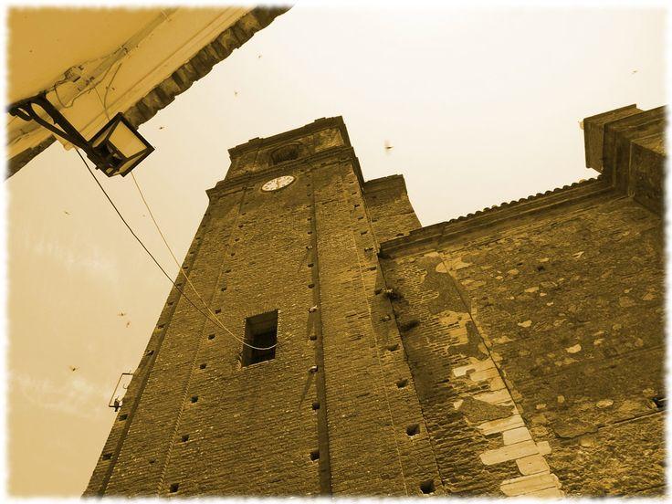 Altiva (Cortegana, Huelva) - La torre de la iglesia de Cortegana
