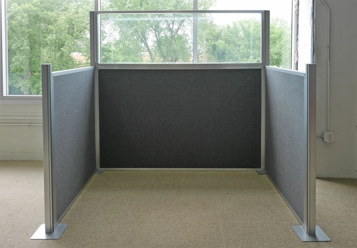 22 best 2017 glass cubicle images on pinterest desk for Cubicle privacy ideas