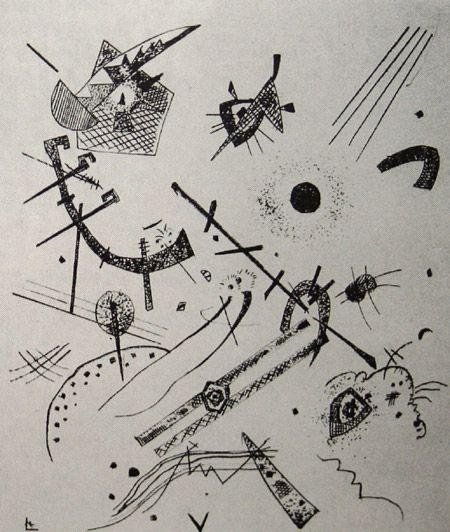 299 best Wassily Kandinsky, 1866-1944 images on Pinterest - kleine k amp uuml che l form