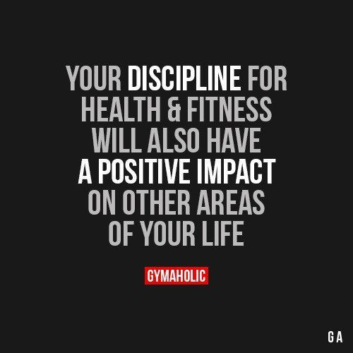 Quotes for Motivation and Inspiration   QUOTATION – Image :    As the quote says – Description  Your Discipline For Health And Fitness    - #InspirationalQuotes