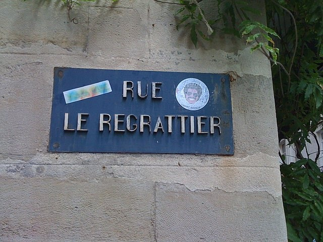 check it out..Isaac Washington sticker on a street sign in Paris!: Shared Photo, Photo Books, Create Photo