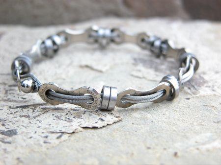 Resultado de imagen de bicycle chain bracelet