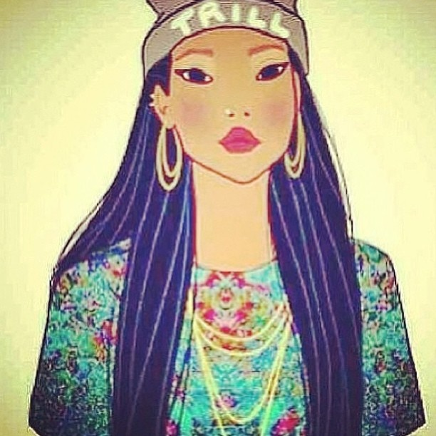 Ghetto Pocahontas True Disney Princess Art Punk Edits Disney