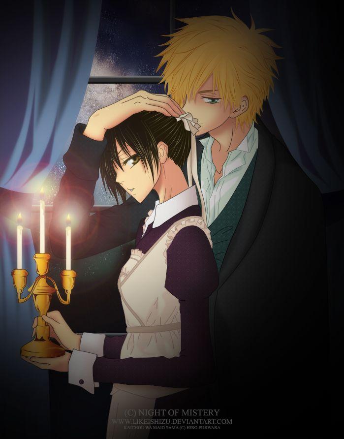 Kaichou wa maid sama - Misaki ♥ Usui