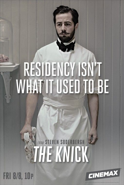 The Knick Character Poster Dr. Bertie Chickering Jr.