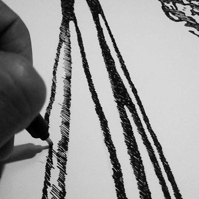 #drawing #lines #art #artwork #workinprogress #boomerang #instagram #ink