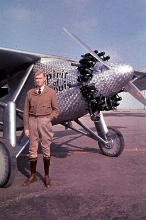Spirit of St Louis and Charles Lindbergh. He made the first transatlantic flight…