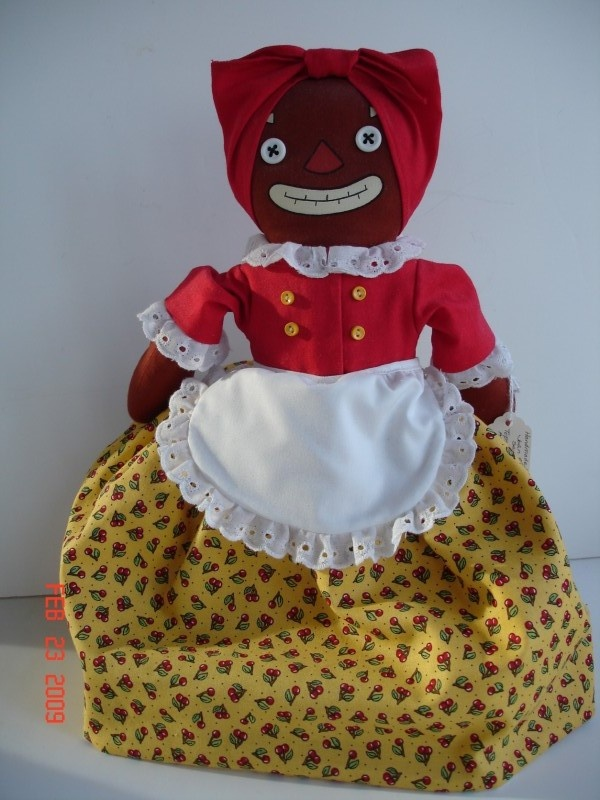 Topsy turvy doll/Beloved Belindy and Raggedy Ann by Joan Oest.