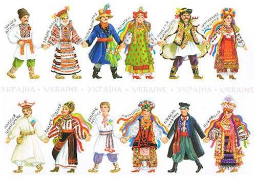 Traditional Ukrainian Costumes