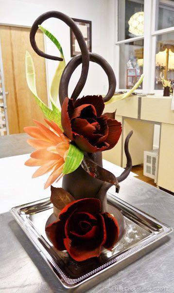 The Hot Chocolatier:  Most recent Chocolate Sculpture
