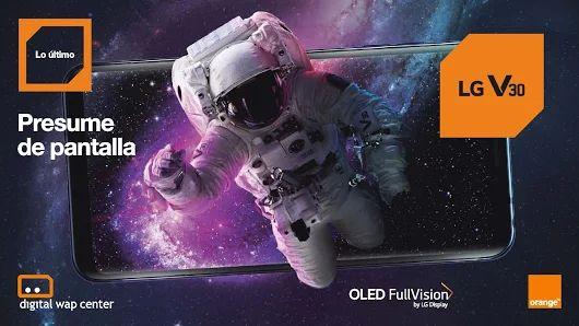 """#NEGOCIO Este mes llévate el smartphone #LGV30 con tecnología OLED y #PresumeDePantalla📱 ¡EL MEJOR TELEVISOR DE 6"""" DEL MUNDO!   Consulta con tu Asesor Digital de Empresas  Tel.: 902 906 777  Email: empresas@digitalwap.es"""
