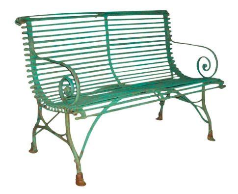Arras Garden Bench Reproduction Of 19th Century Width 48 Depth 26 Height