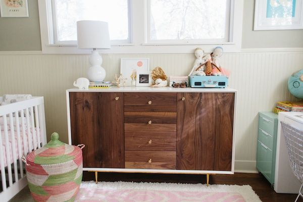 Taylor Sterling's Nursery/Office Makeover | theglitterguide.com
