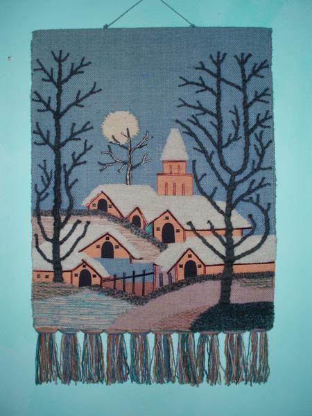 Fotos de  preciosos tapices en textil pra pared