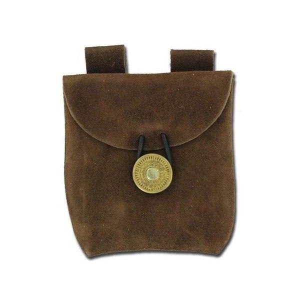 Leather medieval Renaissance bag pouch