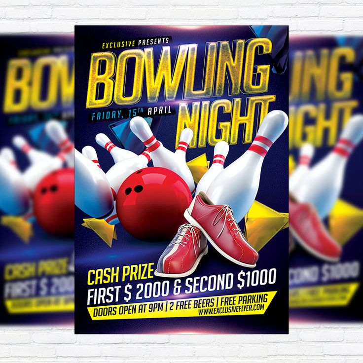 26 best Motivo Bolos images on Pinterest Cakes, Artists and Cards - bowling flyer template