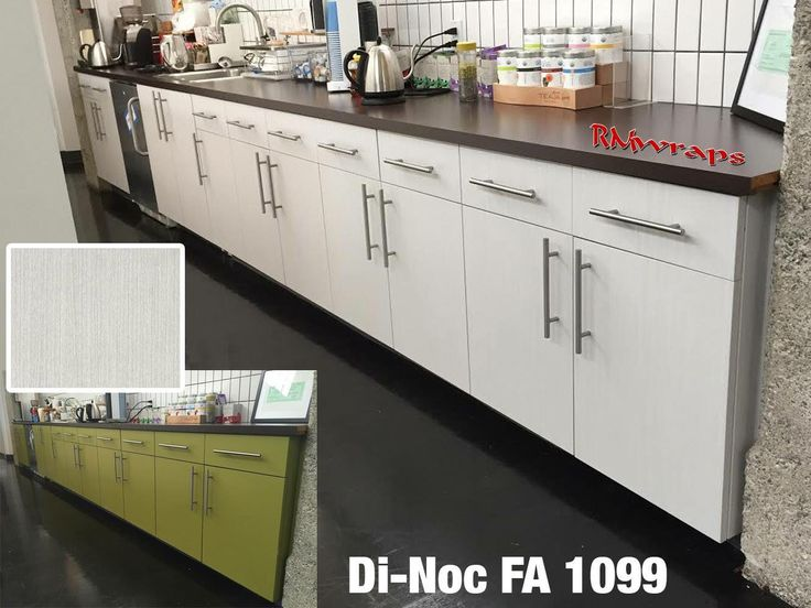 Vinyl Wrap Kitchen Cabinets Before And After