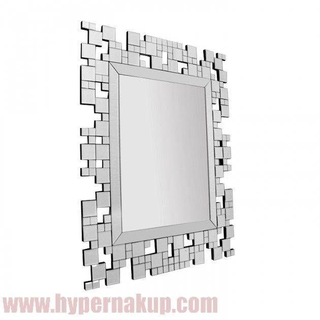 Štýlové celosklenené závesné zrkadlo. Zrkadlo vhodné do interiéru bytu, kancelárie alebo iných štýlovo zariadených priestorov. Zrkadlo je vhodné na zavesenie alebi nalepenie na stenu alebo iné pevné hladké povrchy.  Špecifikácie  Material : sklo  Rozmery (ŠxV): 88x110,8 cm Hmotnosť: 17,5 kg ŠTÝLOVÉ ZRKADLO ELISON TYP 5 | HYPERNAKUP.COM | PREDAJ